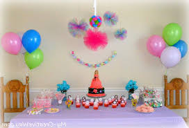 simple home decoration for birthday decorating of party