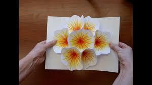 3d Paper Flower Calendar How To Make A Bouquet Flower Pop Up Card