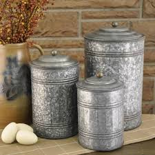 Rustic Kitchen Canister Sets Attractive Rustic Kitchen Canister Set 3 10020jpg Stargardenws