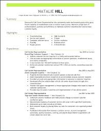 Police Dispatcher Resume Call Center Representative Resume Samples
