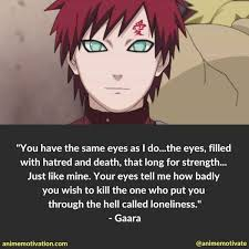 Gaara Quotes Loneliness