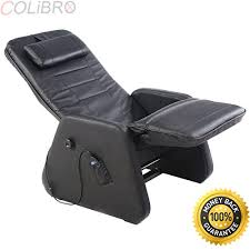 black leather massage chair. colibrox\u2013new zero gravity electric massage chair recliner pu leather w/controller black. full body shiatsu 3d massager black