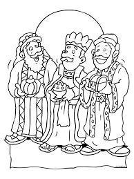 Kleurplaat Drie Koningen Kleurplatennl