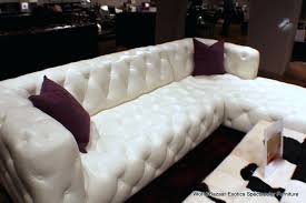 white tufted sofa medium size of back couch paris transitional leather sectional