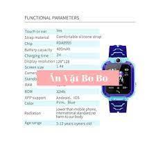 Đồng hồ định vị trẻ em Q12 chống nước có camera - bảo hành 12 tháng 1 đổi 1  - EXTRA XU - Đồng hồ thông minh