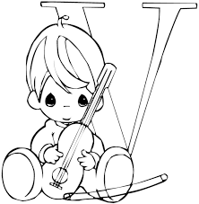 Small Picture Fancy Precious Moments Alphabet Coloring Pages 54 On Coloring for
