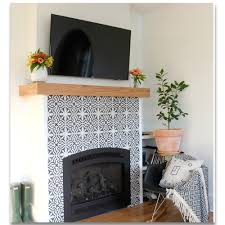 moroccan tile fireplace ideas