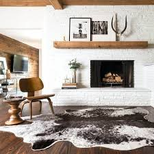 white faux cowhide rug faux cowhide area rug brown and white faux cowhide rug