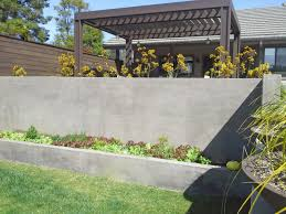 Small Picture Concrete Retaining Wall Ideas For Attractive Garden Landscape