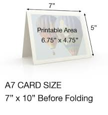 A7 Size Shop By Card Sizes