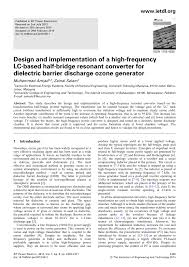 High Frequency Circuit Design Pdf Pdf Design And Implementation Of A High Frequency Lc Based