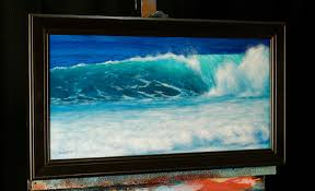 crashing wave an acrylic painting lesson