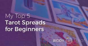 top 5 tarot spreads for beginners
