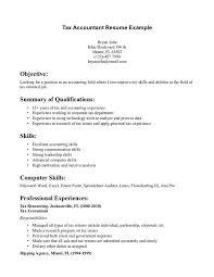 50 Unique Sample Resume For Junior Accountant Template Free