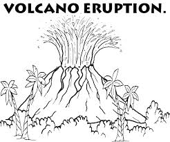 volcano diagram coloring pages plus wonderful v is for shield