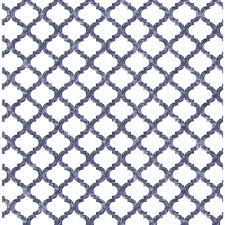 wilko wallpaper moroccan tile blue image 1
