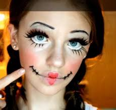 not creepy rag doll makeup confident in her delivery as she shows you how to apply this makeup