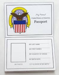 Free Passport Template For Kids Free Travel Printables For Kids Pretend Passport 27