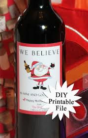 Free Printable Wine Labels Christmas Wine Bottle Labels Printable Free