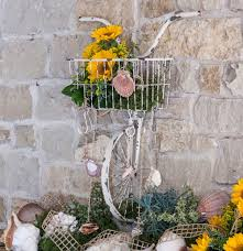 on bike wall decor with basket with bicycle wall basket 248057