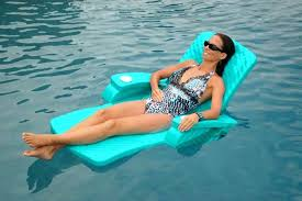 pool lounge floats pool lounge floats with canopy convertible chair floating float storage comfortable inflatable