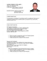 Civil Engineering Resume Examples Civil Engineer Resume Wwwfungramco 99