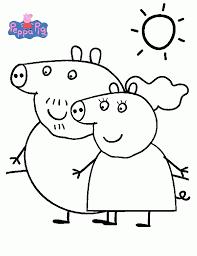 Small Picture Dibujos de Peppa Pig para Colorear PEPPA PARA PINTAR