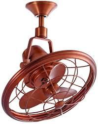small oscillating ceiling fan indoor outdoor 3 blade sd porch patio quiet new