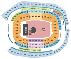 Fedex Seating Chart U2 46 Complete Us Bank Stadium Seating Map