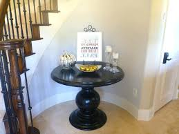 round hallway table round table foyer for half hallway circle mirrored house small entry special entrance hallway console table