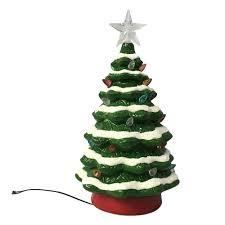 St. Nicholas Square Light-Up Christmas Tree Table Decor