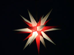 Herrnhuter Weihnachtsstern Weißrot Weihnachtsstern