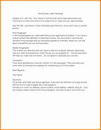 Cover Letter Title Examples Beautiful Cover Letter Email Subject