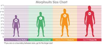 Morphsuit Size Chart Details About Morphcostumes Jeff The Killer Morphsuit Costume Adult Child Sizes