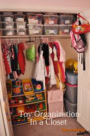 Toy Organization in a Closet Kids Closet Organization Free Label