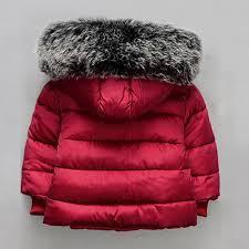 teresa baby girl boy winter cotton hooded coat jacket thick warm zipper outwear clothes intl
