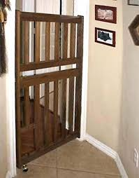 wooden dog gates cat escape style pet gate and safety in doors freestanding indoor uk