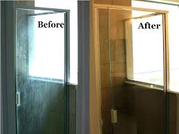 clean hard water stains from glass remove water stain from glass how to remove hard water