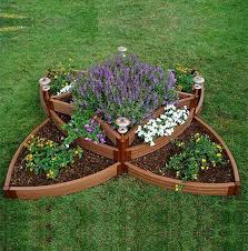 Small Picture Triangle raised flower bed Garden Grove Pinterest Raised