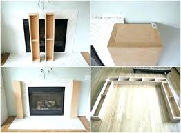 how to build a fireplace surround fireplace making a fireplace surround fireplace mantel ideas diy electric