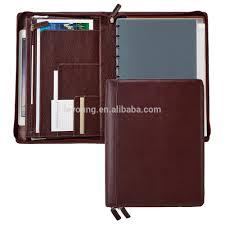 Designer Padfolio Custom Genuine Leather Padfolio Designer File Folder Buy Leather Expandable File Folder Leather Padfolio Zip Leather File Folder Product On
