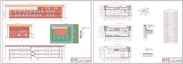 Проект ресторана скачать Чертежи РУ Курсовой проект Ресторан 48 х 18 м в г