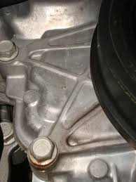 how to spot a water pump failure pics chevy traverse this image has been resized click this bar to view the full image