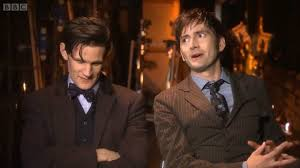 doctor who th anniversary david tennant and matt smith doctor who 50th anniversary david tennant and matt smith interview