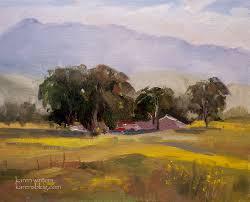 california central coast plein air oil painting farm near nipomo