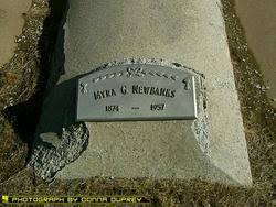 "Almyra Geneva ""Myra"" Spencer Newbanks (1874-1957) - Find A Grave Memorial"