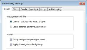Supported Embroidery Files