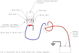 the oldszone converting to an internal regulator gm external regulator to internal regulator conversion