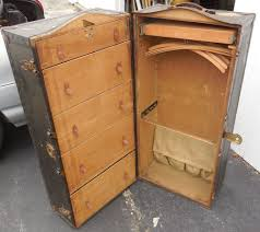 Suitcase With Drawers Vintage Doctors Md Pat1903 1912 Innovation Steamer Trunk Suitcase