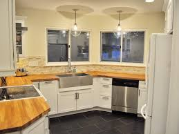 image of good kitchen colors with maple cabinets
